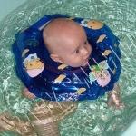 BabySwimmer  круг на шею  для плаванья - BabySwimmer  круг на шею