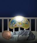 """WEINA Ночной музыкальный светильник """"Мишки на воздушном шаре"""""""