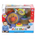 Веселый джаз, музыкальная игрушка - JIA LE TOYS Развивающая игрушка ВЕСЕЛЫЙ ДЖАЗ 30х16,8х23,8см