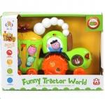 Веселый фермер, трактор - JIA LE TOYS Развивающая игрушка ВЕСЕЛЫЙ ФЕРМЕР 32,5х11,5х24см