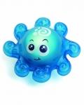 Осьминожек (со световыми эффектами) - Игрушка для ванной со световым эффектом (осьминожек)