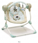 Кресло-качели Baby Care Balancelle (cream) с адаптером
