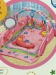 "Развивающий коврик ""Бабочка"" (розовый)"