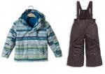 Комплект 3в1 (полукомбинезон,куртка, флиска)ж -