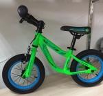 """Велобег, надувные колеса 12"""" (зеленый, матовый)"""