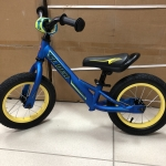 Велобег, надувные колеса 12