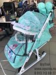 !!Санки-коляска Disney baby 2 (Минни Маус)