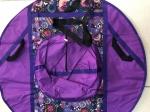 Тюбинг (ватрушка), 110см, фиолетовая