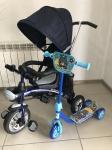 !Велосипед-колсяка-беговел MarsTrike(синий)