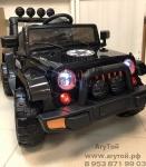 Джип электромобиль J88 (черный) -