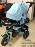 Велосипед трехколесный Джинс Т400(голубой)