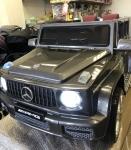 !Электромобиль Mercedes G65 (серебро)