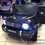 !Электромобиль Mercedes G65mi (черный)