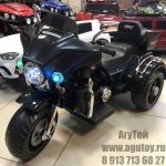 Электромотоцикл Harley (черный)