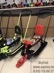 Снегокат Тимка спорт 6 (бордовый, черный) -