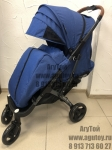 Коляска детская прогулочная плюс PRO (синяя)