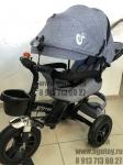 !Велосипед трехколесный AVI (серый)