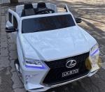 !Электромобиль Lexus570 (белый)