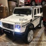 Электромобиль Mercedes G65 белый