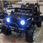 Джип электромобиль Jeep (черный) -