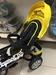 Велосипед-коляска трехколесный CITY (желтый)