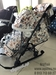 !!Санки-коляска НИКА 7-5 (цветочный светлый)