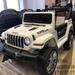 !Джип электромобиль Jeep (белый)