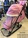 !!!Санки-коляска НИКА 7-5 (Шишка) розовый