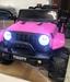 !!!Джип электромобиль rubicon (розовый)